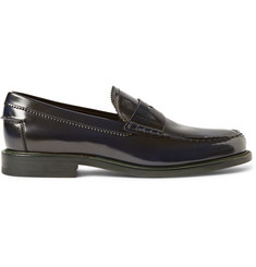 Tod's Polished-Leather Penny Loafers