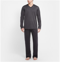 Hanro Mercerised Cotton-Jersey Pyjama Set