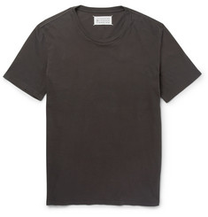 Maison Margiela Cotton-Jersey Crew Neck T-Shirt