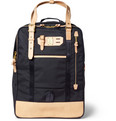Master-Piece - Surpass Convertable Leather-Trimmed Nylon Bag
