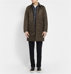 Undercover Felt-Collar Raincoat