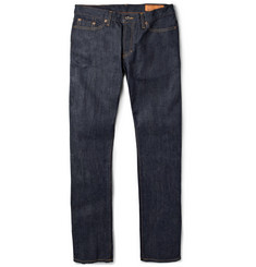 Jean Shop Slim-Fit Rinsed Selvedge Jeans