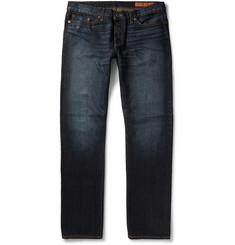 Jean Shop Worn-In Slim-Fit Selvedge Jeans