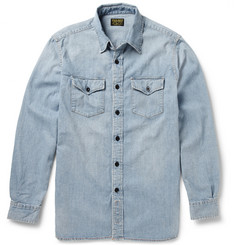 Jean Shop Washed Selvedge Denim Shirt