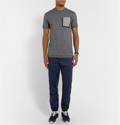 Nike White Label Stretch Cotton and Wool-Blend Sweat Pants