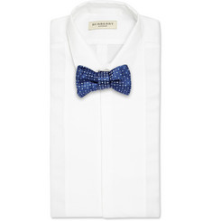 Charvet Patterned Silk Bow Tie