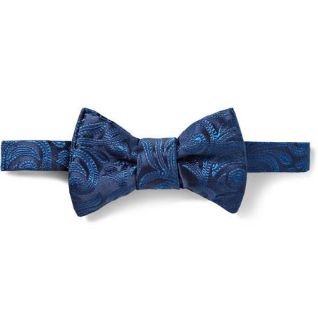 Charvet Paisley Woven-Silk Bow Tie