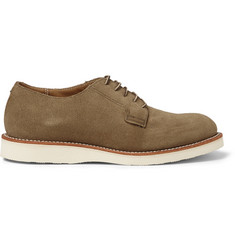 Red Wing Shoes Postman Suede Oxford Shoes