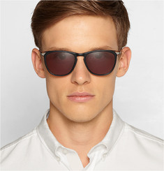 Barton Perreira Hakan D-Frame Acetate and Metal Sunglasses