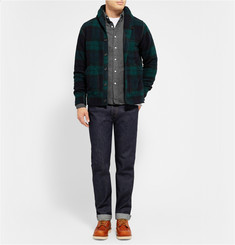 Beams Plus Button-Down Collar Cotton-Flannel Shirt