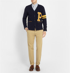 Beams Plus Appliquéd Wool-Blend Cardigan