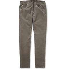 Beams Plus Slim-Fit Stretch-Cotton Corduroy Trousers