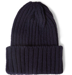 Beams Plus Ribbed Wool Beanie Hat