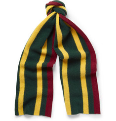Beams Plus Striped Wool Scarf