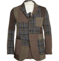 Beams Plus Patchwork Harris Tweed Jacket