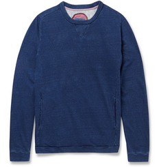 Blue Blue Japan Indigo-Dyed Cotton Sweatshirt