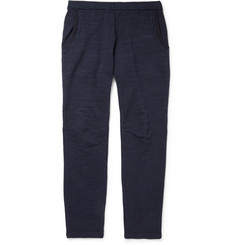 Blue Blue Japan Regular-Fit Woven Cotton-Blend Jersey Sweatpants