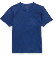 Blue Blue Japan Indigo-Dyed Slub Cotton-Jersey T-Shirt