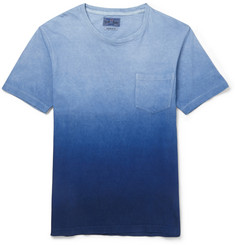 Blue Blue Japan Dégradé Cotton-Jersey T-Shirt
