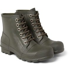 Hunter Original Lace-Up Rubber Boots