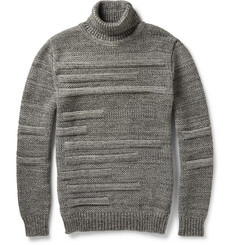 S.N.S. Herning Textured Virgin Wool Rollneck Sweater