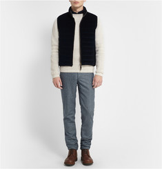 S.N.S. Herning Textured-Knit Wool Sweater