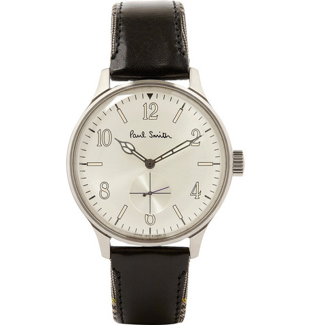 Paul Smith Shoes & Accessories City Classic Leather-Strap Watch