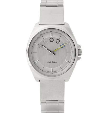 Paul Smith Shoes & Accessories Five Eyes Stainless Steel Watch
