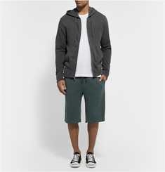 James Perse Loopback Cotton-Jersey Shorts