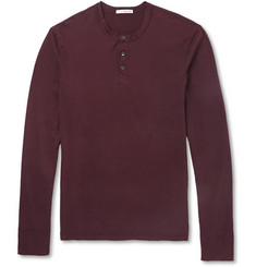 James Perse Cotton Henley T-Shirt