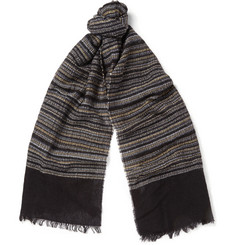 Missoni Striped Woven Wool-Blend Scarf