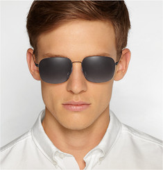 Safilo x Marc Newson Square-Framed Metal Sunglasses