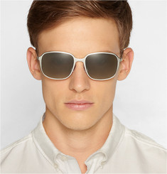 Safilo x Marc Newson Square-Framed Aluminium Sunglasses