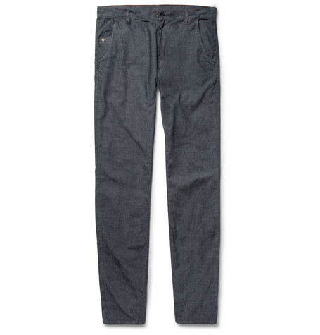 Raleigh Denim Graham Lightweight Chambray Jeans