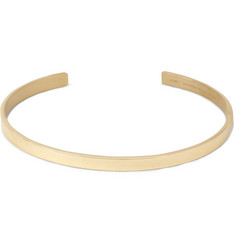 Le Gramme Le 15 Polished Yellow Gold Cuff