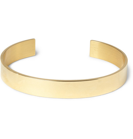 Le Gramme Le 33 Polished Yellow Gold Cuff