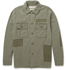 Remi Relief Regular-Fit Washed-Cotton Overshirt