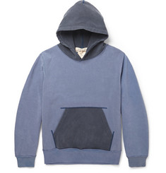Remi Relief Hooded Cotton-Jersey Sweatshirt