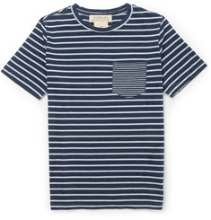 Remi Relief Striped Cotton-Jersey T-Shirt