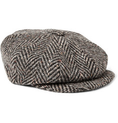 Lock & Co Hatters Muirfield Wool-Tweed Flat Cap