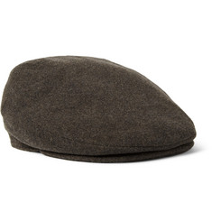Lock & Co Hatters Oslo Wool and Cashmere-Blend Flat Cap
