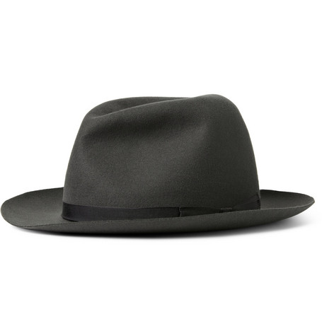 Lock & Co Hatters Voyager Rollable Felt Trilby Hat