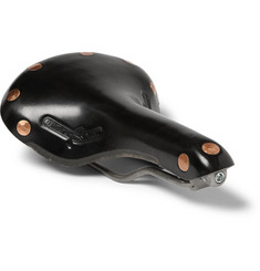 Brooks England Swift Leather and Titanium Bicycle Saddle