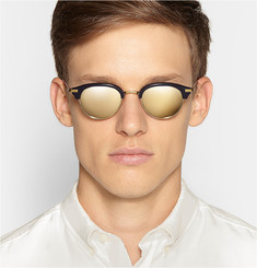 Thom Browne Gold and Acetate Sunglasses