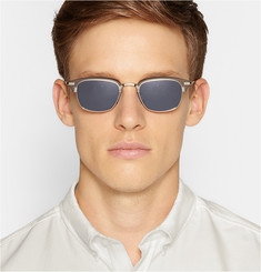 Thom Browne Acetate and Metal Sunglasses