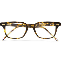 Thom Browne D-Frame Matte-Acetate Glasses