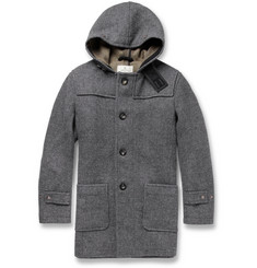 Private White V.C. Hooded Wool Duffle Coat