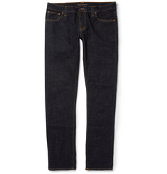 Nudie Jeans Long John Skinny-Fit Rinsed-Denim Jeans