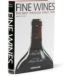 Assouline Fine Wines: The Best Vintages Since 1900 by Michel Dovaz Hardcover Book