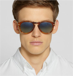 Persol Polarised Tortoiseshell Acetate Sunglasses